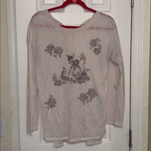 LC Lauren Conrad Disney sweater